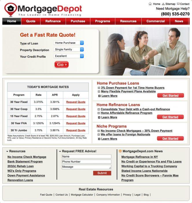 MortgageDepot.com